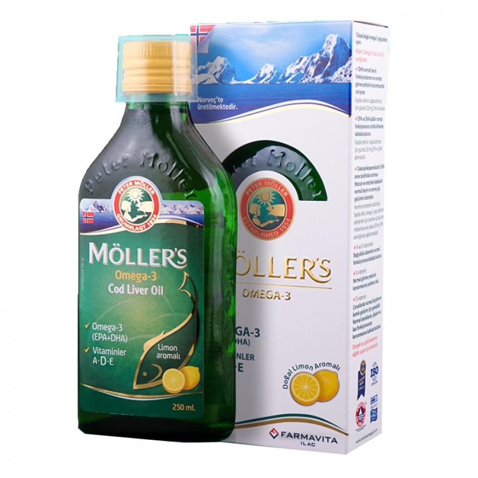 Möller's Omega 3 Cod Liver Oil