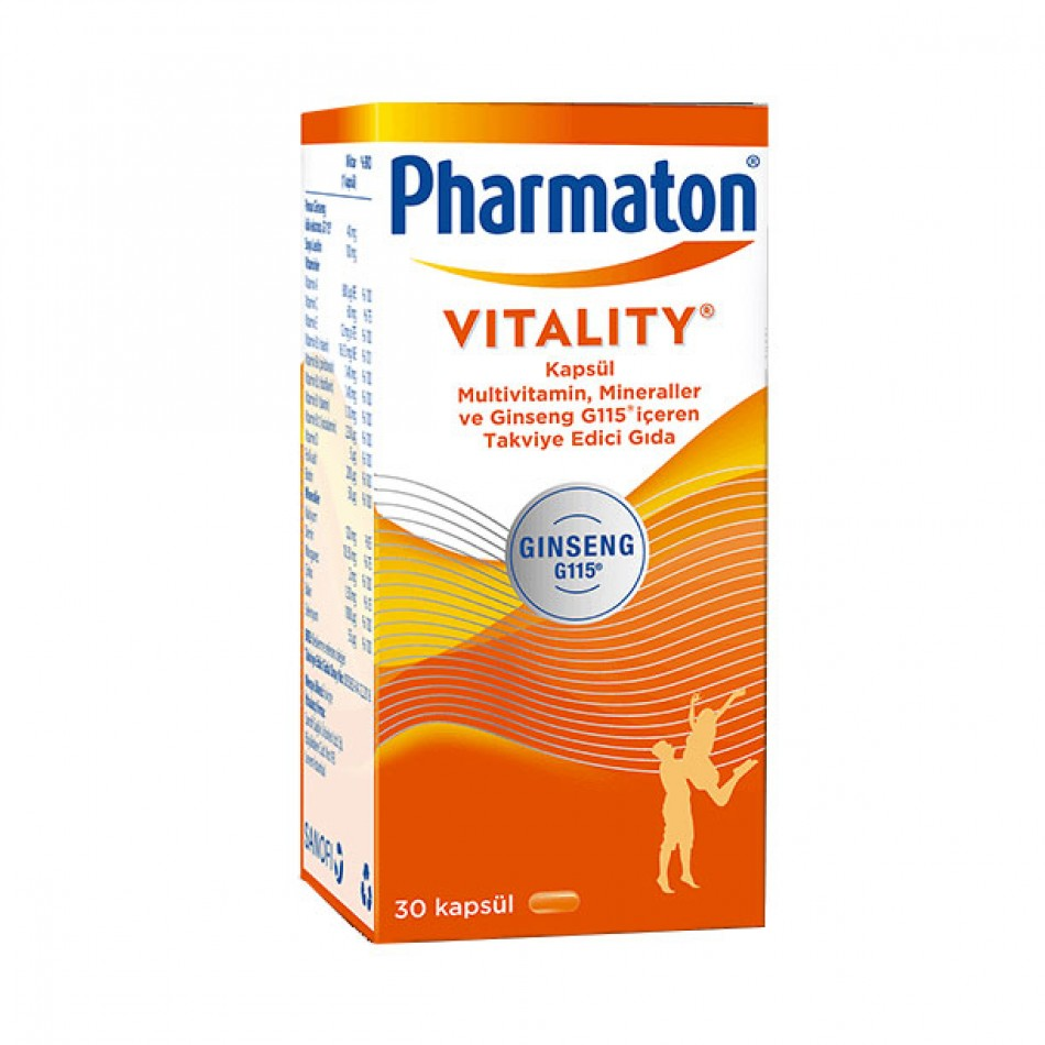 Pharmaton Vitality Kapsül